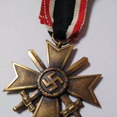 Militaria: CRUZ AL MÉRITO MILITAR DE 2ª CON ESPADAS. Lote 195019012