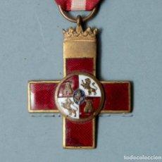 Militaria: CRUZ DE LA ORDEN DEL MÉRITO MILITAR 1938-1939, DISTINTIVO ROJO 1ª CLASE - GUERRA CIVIL. Lote 195031252