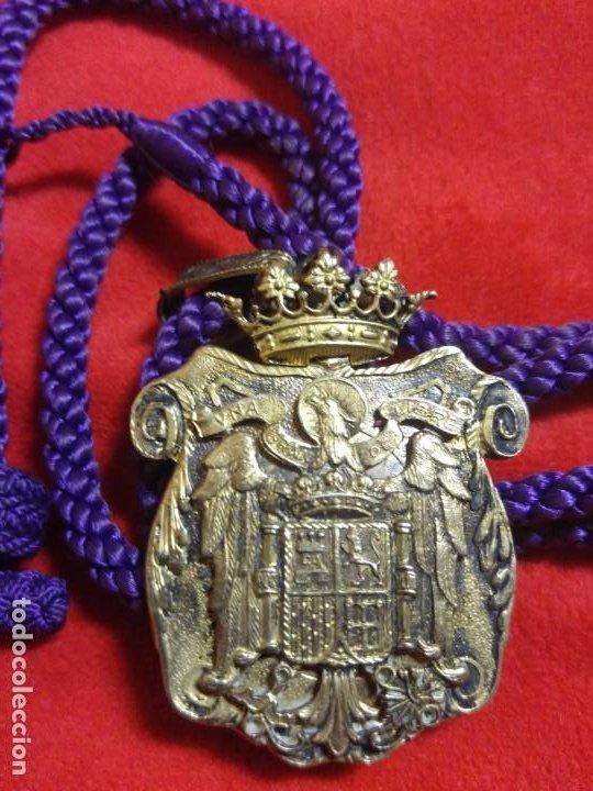 MEDALLA Y CORDON JUSTICIA. EPOCA FRANCO (Militar - Medallas Españolas Originales )
