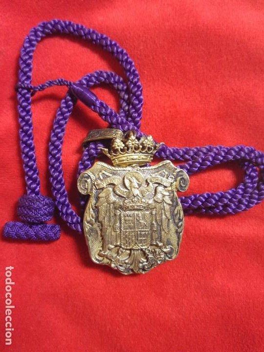 Militaria: MEDALLA Y CORDON JUSTICIA. EPOCA FRANCO - Foto 2 - 195093166