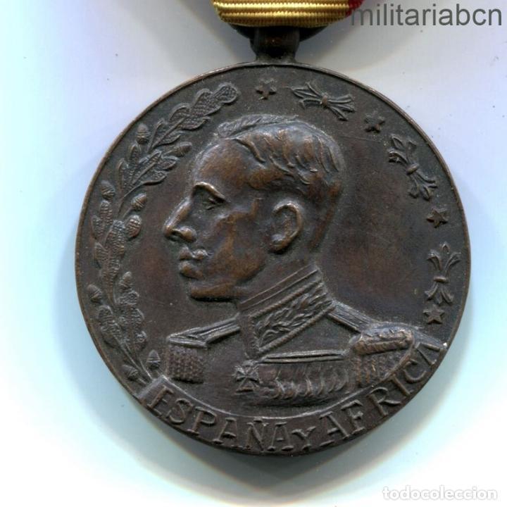 MEDALLA DE ESPAÑA Y ÁFRICA 1912. (Militar - Medallas Españolas Originales )