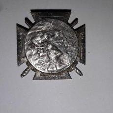 Militaria: ANTIGUA INSIGNIA MILITAR DE LA 1ª GUERRA MUNDIAL A IDENTIFICAR ES DE PLATA. Lote 195139165