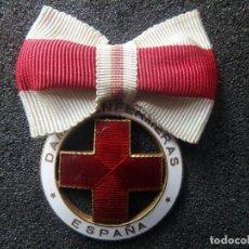 Militaria: (JX-200288)MEDALLA DAMAS ENFERMERAS ESPAÑA , SANIDAD MILITAR , NUMERADA .. Lote 195196542