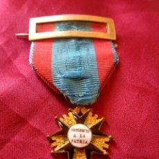 Militaria: MEDALLA BENEMERITO A LA PATRIA. Lote 195213616