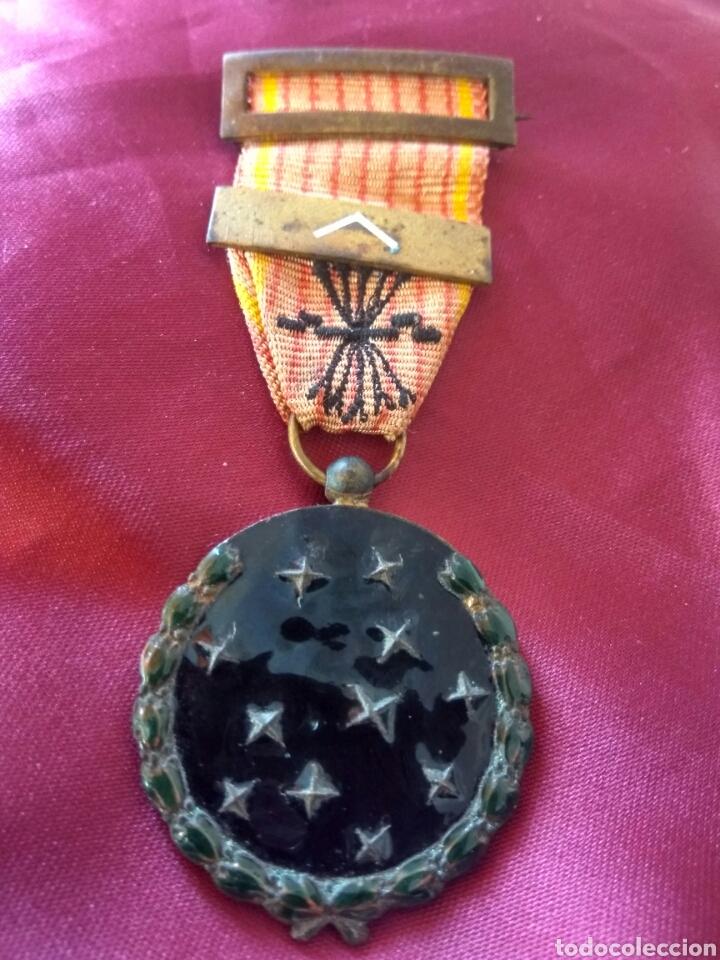 MEDALLA VIEJA GUARDIA DE FALANGE (Militar - Medallas Españolas Originales )