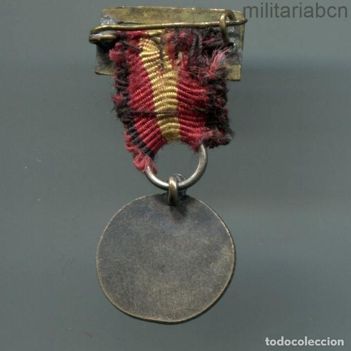 Militaria: Miniatura de la Medalla de la Campaña de la Guerra Civil. - Foto 2 - 195278063