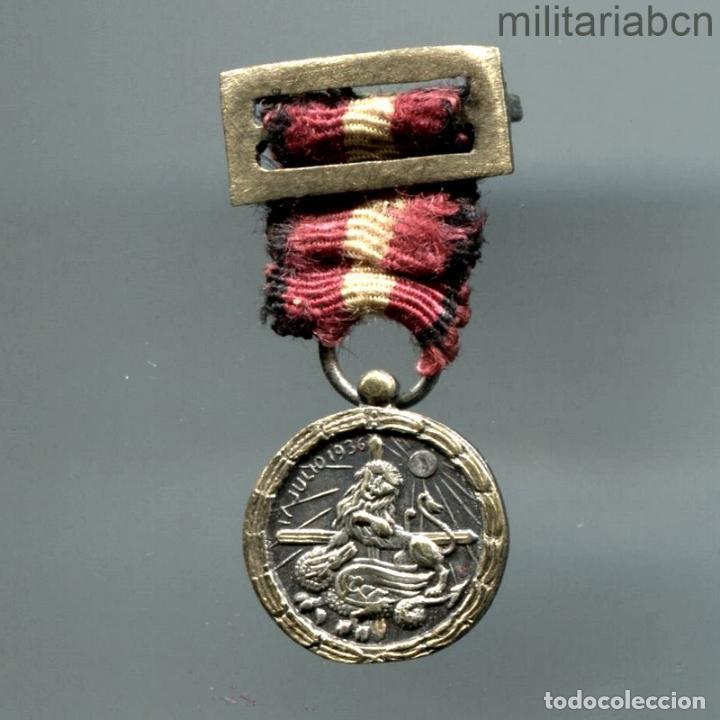 MINIATURA DE LA MEDALLA DE LA CAMPAÑA DE LA GUERRA CIVIL. (Militar - Medallas Españolas Originales )