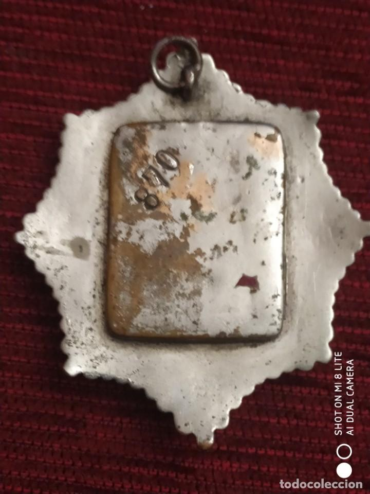 Militaria: Insignia Distintivo Placa muy antigua de policia del Peru. homologa Cuerpo Seguridad España Alfonso - Foto 2 - 195289310