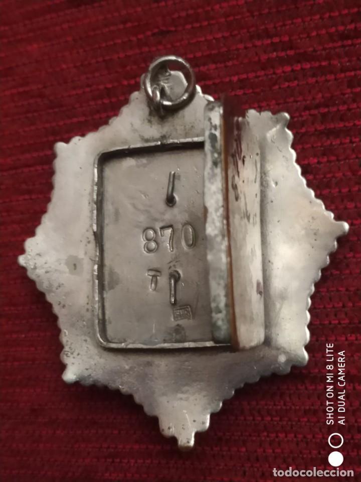 Militaria: Insignia Distintivo Placa muy antigua de policia del Peru. homologa Cuerpo Seguridad España Alfonso - Foto 3 - 195289310