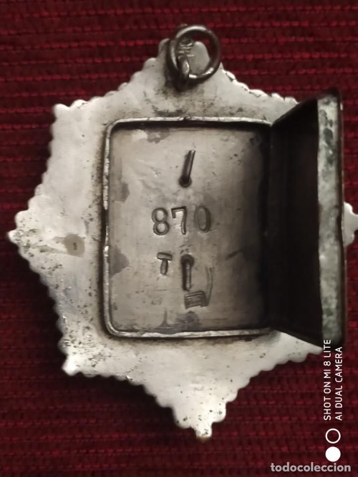 Militaria: Insignia Distintivo Placa muy antigua de policia del Peru. homologa Cuerpo Seguridad España Alfonso - Foto 4 - 195289310