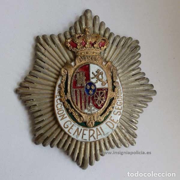 Militaria: Insignia Distintivo Placa muy antigua de policia del Peru. homologa Cuerpo Seguridad España Alfonso - Foto 5 - 195289310
