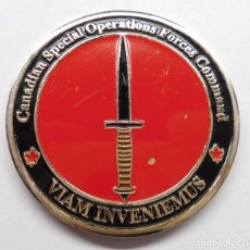 Militaria: MEDALLA CANADIAN SPECIAL OPERATIONS FORCES COMMAND, VIEN INVENIEMUS. Lote 195327367