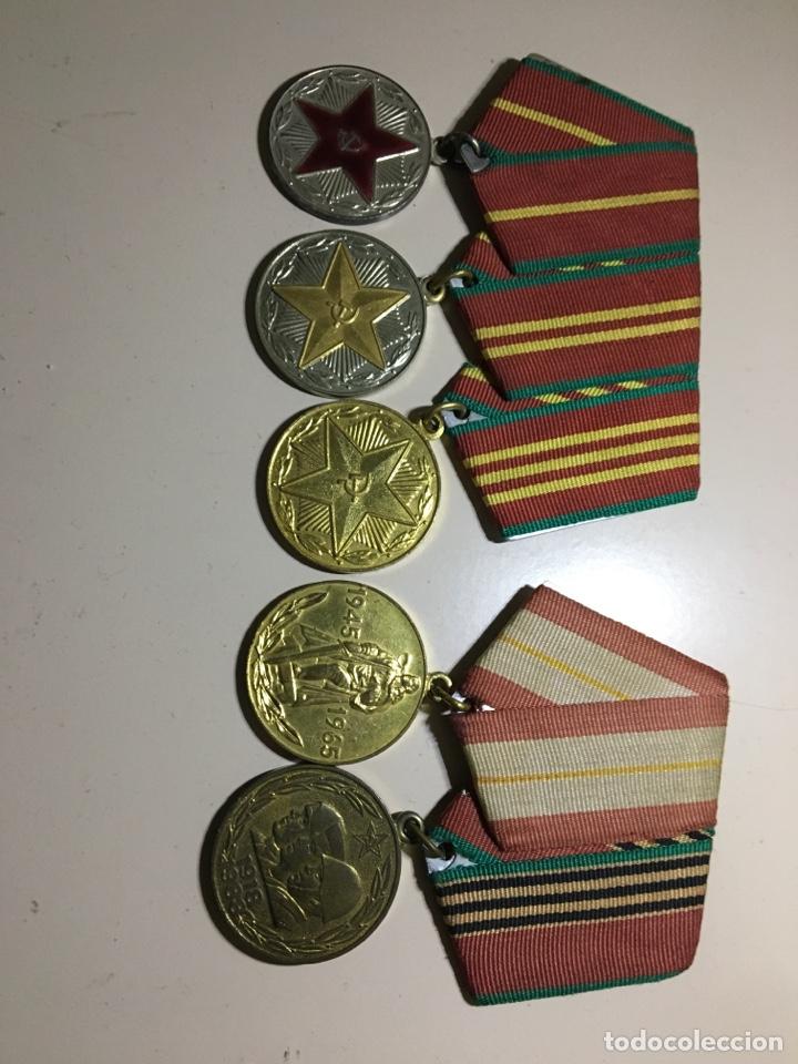 MEDALLAS CCCP (Militar - Medallas Extranjeras Originales)