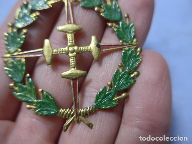 Militaria: * Antigua medalla de chapa laureada de san fernando, tipo colectiva, guerra civil. Original. ZX - Foto 2 - 195340930