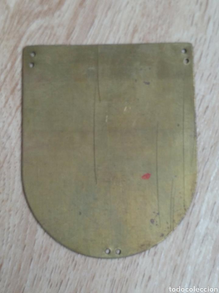 Militaria: PLACA PROVINCIAL OJE LERIDA - FRENTE JUVENTUDES - O.J.E - EPOCA FRANCO. - Foto 2 - 195369931