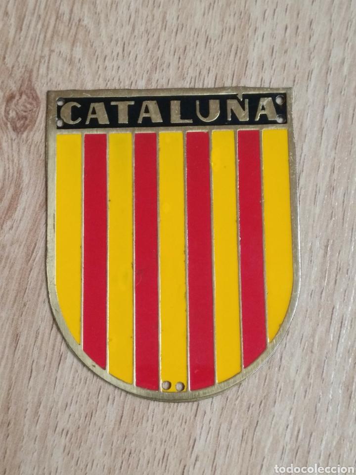 PLACA REGIONAL OJE CATALUÑA - FRENTE JUVENTUDES - O.J.E. (Militar - Medallas Españolas Originales )