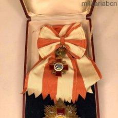 Militaria: ORDEN DE LA CRUZ ROJA CUBANA; GRAN CRUZ DE 1ª CLASE, ANTIGUA VILARDERA Y RIERA DE LA HABANA. Lote 195417726