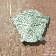 Militaria: INSIGNIA DE LA POLICÍA NAZI ALEMANA SS SA GESTAPO DE LA SEGUNDA GUERRA MUNDIAL . Lote 195423118
