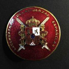 Militaria: EXCOMBATIENTES FUERZAS ESPAÑOLAS. Lote 195467547