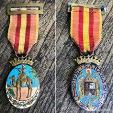 Militaria: MEDALLA DE LA CAMPAÑA DE IFNI-SAHARA DE LA ÉPOCA DE FRANCO MODELO BIFACIAL. Lote 195735991