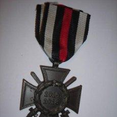 Militaria: CRUZ DE HONOR O CRUZ DE HINDENBURG 1.914 - 1.918. MARCADA: R.V.21 P FORZHEM. Lote 196211780