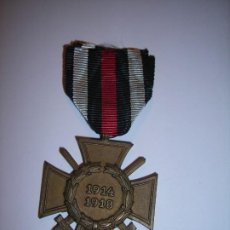 Militaria: CRUZ DE HONOR O CRUZ DE HINDENBURG 1.914 - 1.918. MARCADA: G G. Lote 196212030