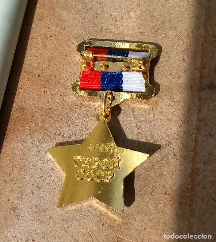 Militaria: Medalla de la Estrella de Oro.RUSSIA - Foto 2 - 196338808