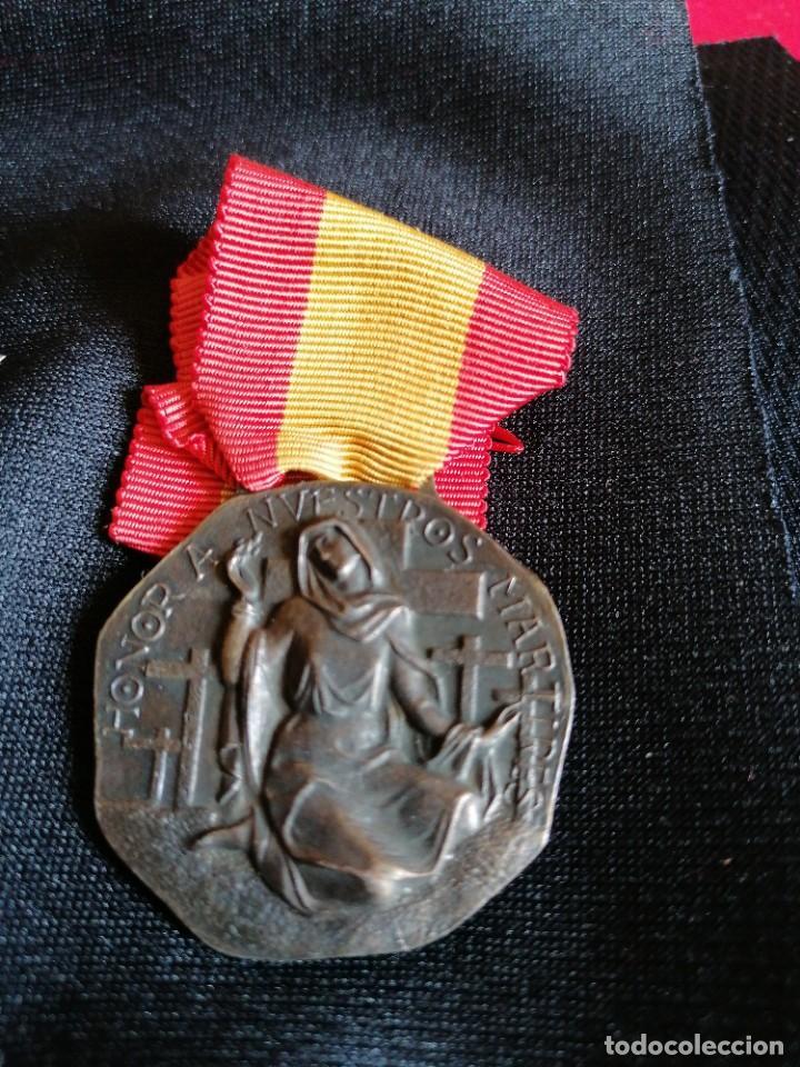 MEDALLA DE CIUDAD REAL A SUS CAIDOS (Militar - Medallas Españolas Originales )