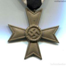 Militaria: ALEMANIA III REICH. CRUZ AL MÉRITO DE GUERRA. 2ª CLASE. 1939. SIN ESPADAS. BUNTMETAL. KVK KRIEGSVERD. Lote 196975630