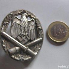 Militaria: INSIGNIA EMBLEMA DISTINTIVO GENERAL ASALTO WEHRMACHT ALLGEMEINES STURMABZEICHEN 3 REICH NAZI WWII. Lote 241456070