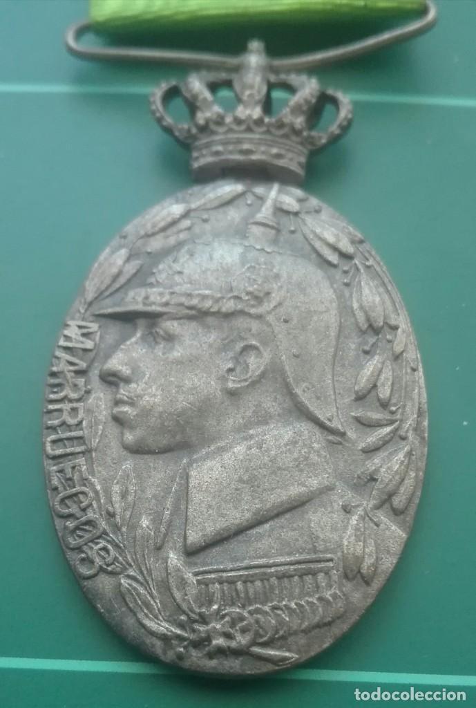 Militaria: Medalla de campaña de Marruecos. Melilla y Tetuán - Foto 2 - 197082887