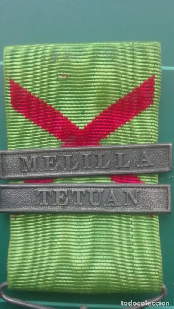 Militaria: Medalla de campaña de Marruecos. Melilla y Tetuán - Foto 3 - 197082887