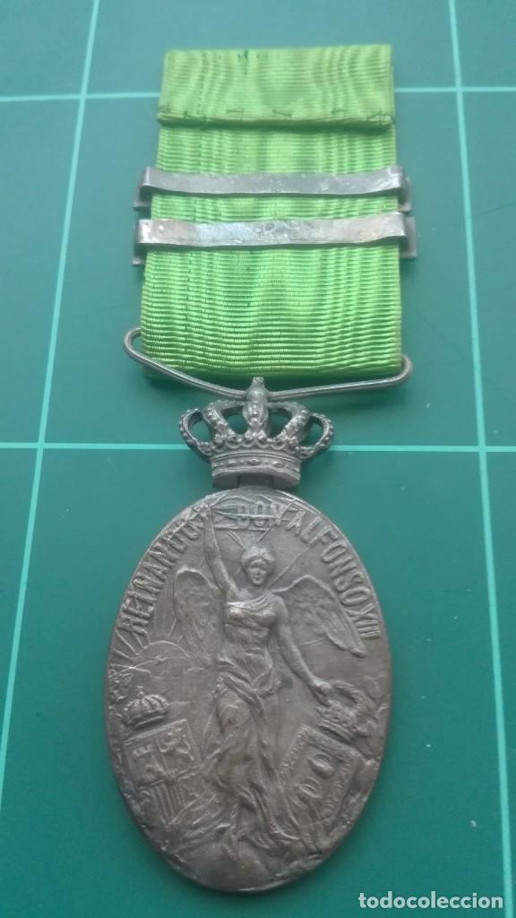Militaria: Medalla de campaña de Marruecos. Melilla y Tetuán - Foto 4 - 197082887
