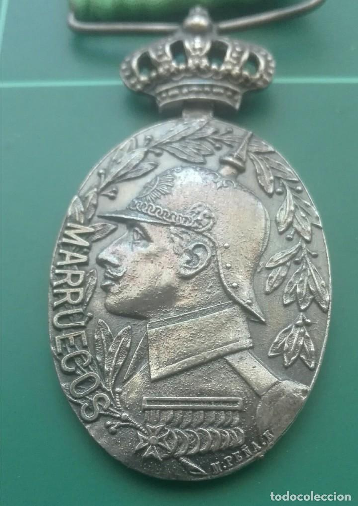 Militaria: Medalla de campaña de Marruecos. Tetuán y Larache - Foto 2 - 197083272