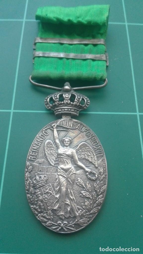 Militaria: Medalla de campaña de Marruecos. Tetuán y Larache - Foto 4 - 197083272