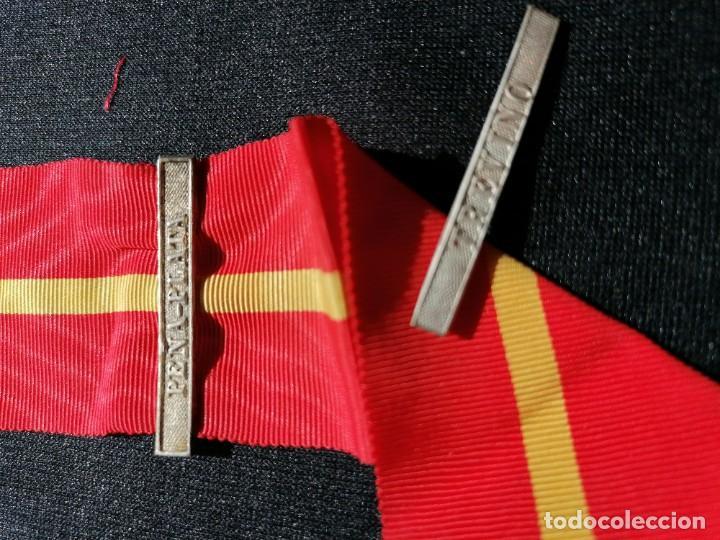 CINTA MEDALLA DE LA CAMPAÑA CONTRA LOS CARLISTAS (Militar - Medallas Españolas Originales )