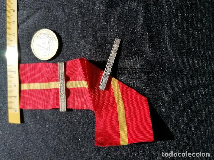 Militaria: Cinta medalla de la campaña contra los carlistas - Foto 2 - 241057435