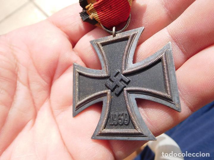MEDALLA CRUZ DE HIERRO DE SEGUNDA CLASE EK2 WW2 ORIGINAL III REICH (Militar - Medallas Extranjeras Originales)