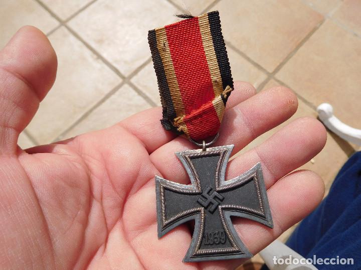 Militaria: Medalla cruz de hierro de segunda clase EK2 WW2 Original III Reich - Foto 2 - 197635406