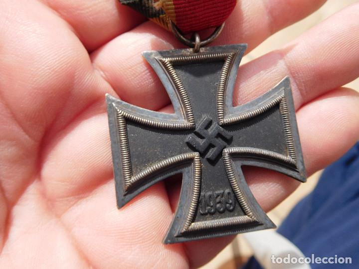 Militaria: Medalla cruz de hierro de segunda clase EK2 WW2 Original III Reich - Foto 3 - 197635406