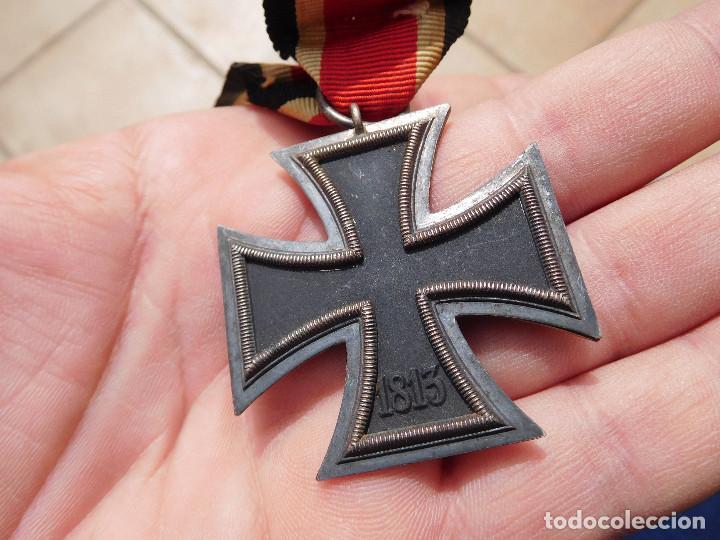 Militaria: Medalla cruz de hierro de segunda clase EK2 WW2 Original III Reich - Foto 5 - 197635406