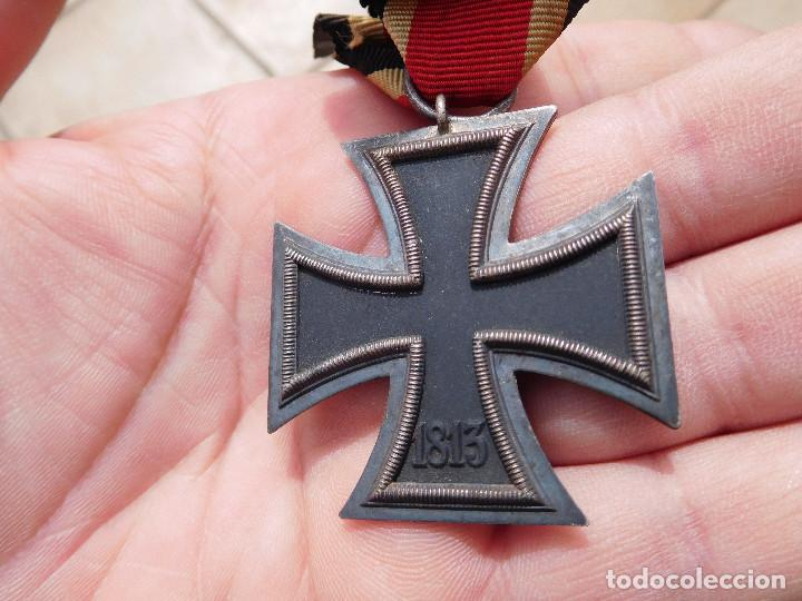 Militaria: Medalla cruz de hierro de segunda clase EK2 WW2 Original III Reich - Foto 6 - 197635406