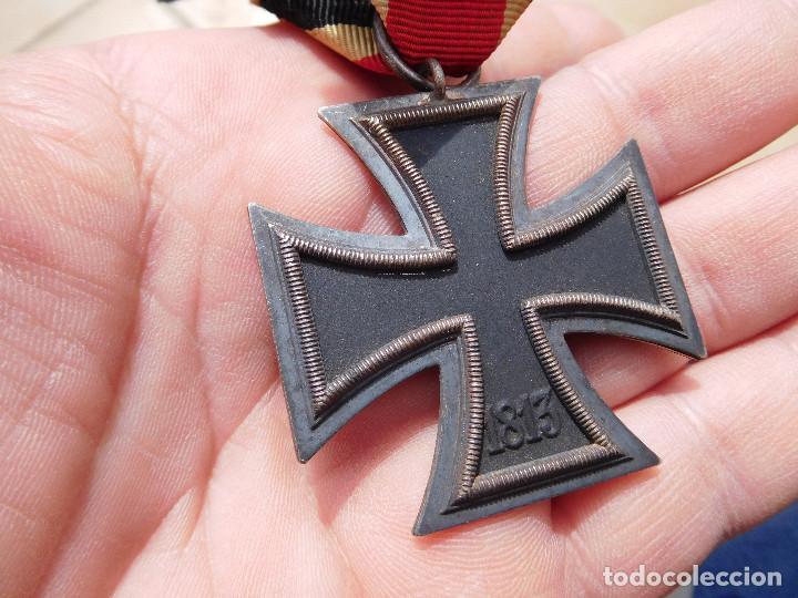 Militaria: Medalla cruz de hierro de segunda clase EK2 WW2 Original III Reich - Foto 7 - 197635406