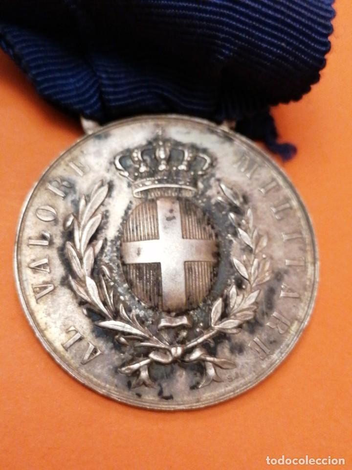 MEDALLA ITALIANA AL VALOR (Militar - Medallas Extranjeras Originales)