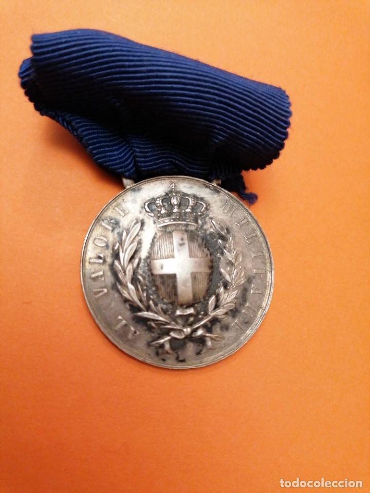 Militaria: Medalla italiana al valor - Foto 2 - 197681701