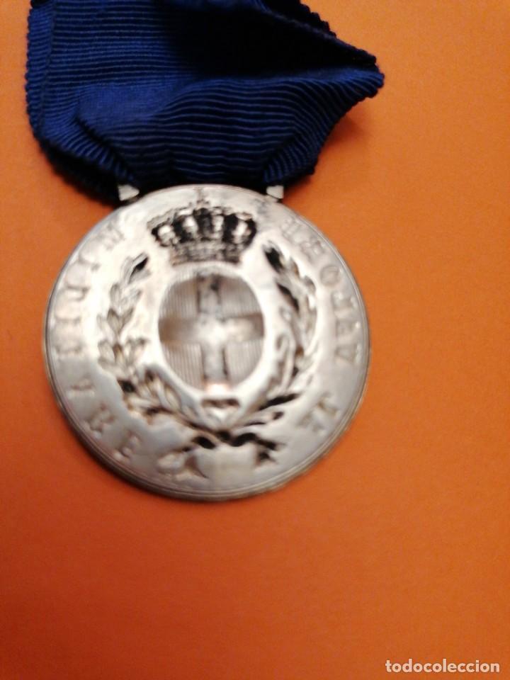 Militaria: Medalla italiana al valor - Foto 3 - 197681701