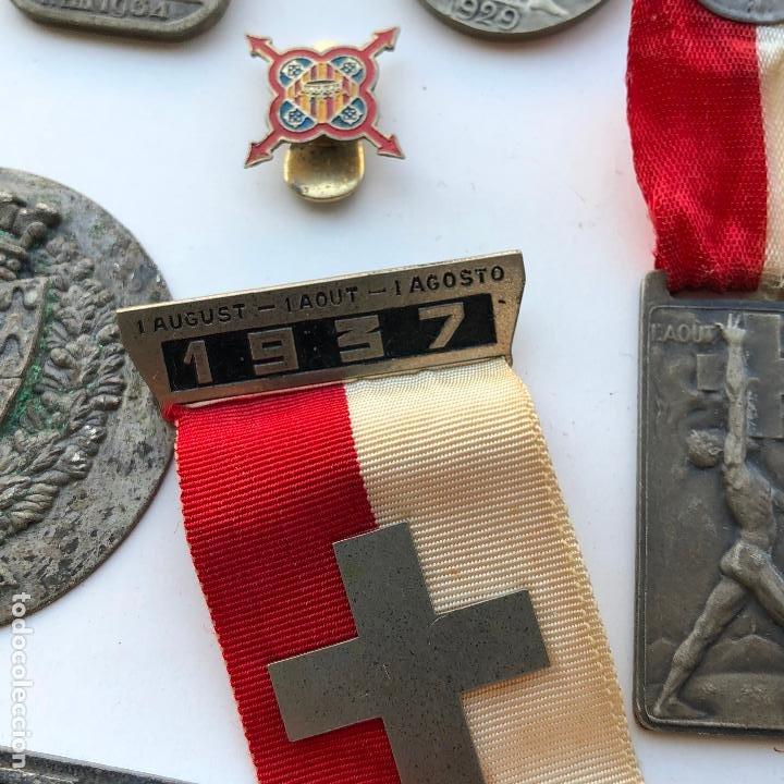 Militaria: LOTE DE MEDALLAS VARIADAS, VER FOTOS ANEXAS. 1920S-30S. UNA DEL 1937. Y DE BADALONA. - Foto 4 - 197732707
