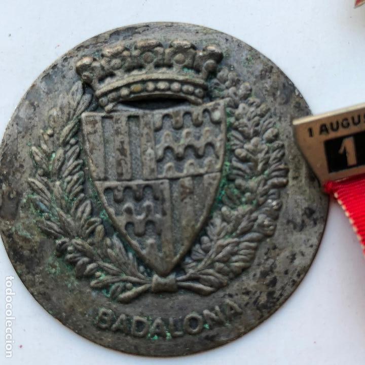 Militaria: LOTE DE MEDALLAS VARIADAS, VER FOTOS ANEXAS. 1920S-30S. UNA DEL 1937. Y DE BADALONA. - Foto 7 - 197732707