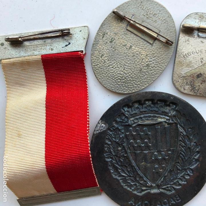 Militaria: LOTE DE MEDALLAS VARIADAS, VER FOTOS ANEXAS. 1920S-30S. UNA DEL 1937. Y DE BADALONA. - Foto 8 - 197732707