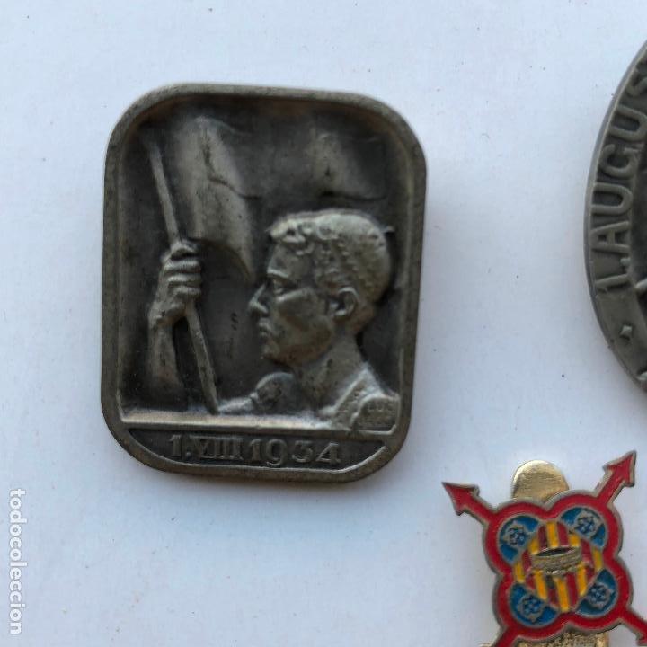 Militaria: LOTE DE MEDALLAS VARIADAS, VER FOTOS ANEXAS. 1920S-30S. UNA DEL 1937. Y DE BADALONA. - Foto 11 - 197732707